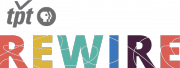 Twin Cities Public Television - Rewire logo